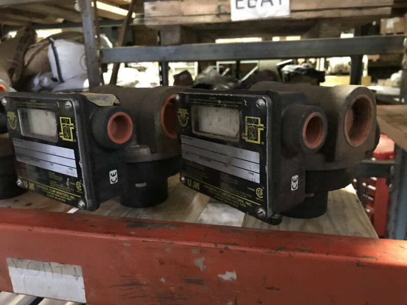 UFM type 12-13 universal flow monitors (qty 9)