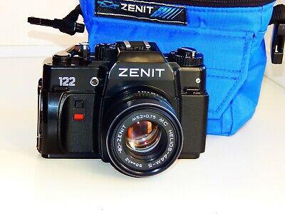 VERY RARE ZENIT-122 EXPORT Soviet SLR film camera w/s lens MC HELIOS 44M-5 SUPER comprar usado  Enviando para Brazil