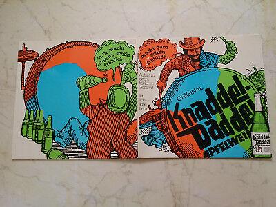 KNADDEL-DADDEL APFELWEIN *WHITE EAGLE N.O.BAND* 70s FOC WERBELP*
