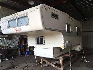 Skylark big truck camper