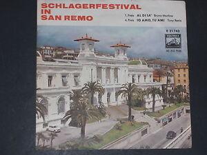 7-Single-Italo-Schlager-Split-Single-BRUNO MARTINO/TONY RENIS - Wien, Österreich - 7-Single-Italo-Schlager-Split-Single-BRUNO MARTINO/TONY RENIS - Wien, Österreich