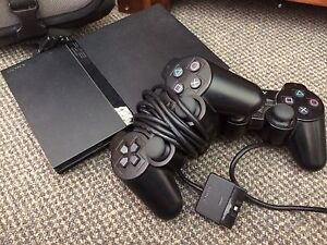 Slim PS2 with two controllers and bag Bexley North Rockdale Area Preview