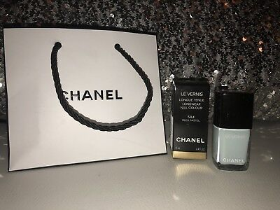 Chanel BLEU PASTEL Le Vernis Nail Polish 584  NEW Baby Blue NIB w/bag!!