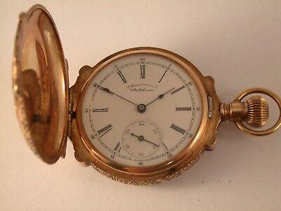 seltene kleine Taschenuhr um 1900 Amerikanischer Markt
