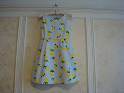 NWT Janie And Jack  Sun Day Best Girls LEMON DRESS  10 - Best Girls Dress