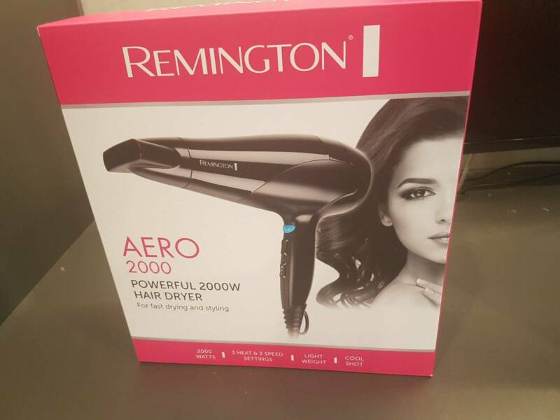 0b51199d8 Remington Aero 2000 hair dryer