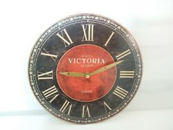 Victoria Station London Wall Clock No. 4273 Quartz Movement 11 Diameter