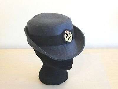 NEW Royal Air Force Woman's Service Cap & Badge. Size 56cm. RAF.