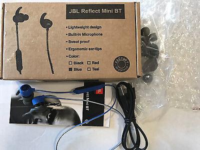 GENUINE JBL  MINI  Bluetooth earphones  Sport earphones  SWEAT PROFF BLUE for sale  Shipping to South Africa