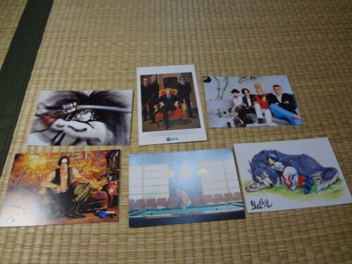 Neo Geo SNK Post card Postcard  lot of  6 set Rare