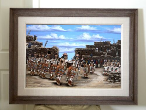 Duane Dishta, Zuni Snake Dance Original Painting