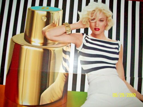 LAMB by GWEN STEFANI GIANT PROMO FRAGRANCE POSTER VINTAGE Just a girl RARE MINT!