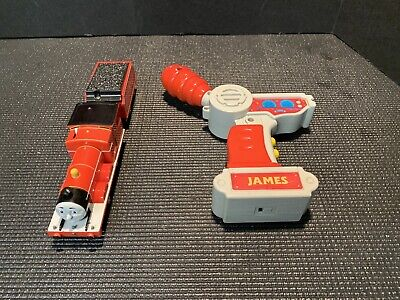Thomas Train TRACKMASTER Motorized REMOTE CONTROL JAMES R/C Working