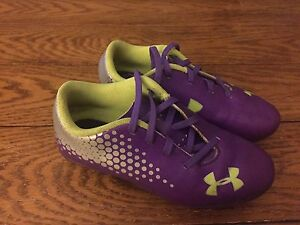 Toddler Girl's Under Armour Soccer Cleats Size 12
