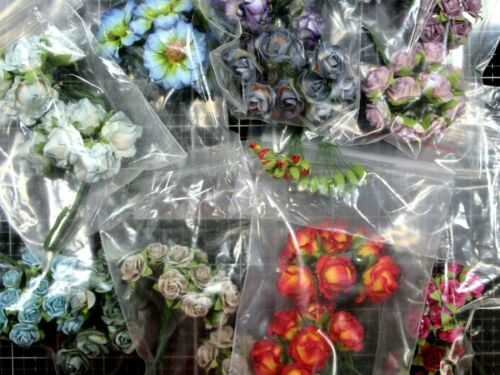Your Choice New Bulk~No Packaging Prima Marketing Flowers Bunches