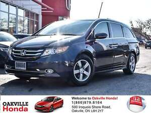 2016 Honda Odyssey Touring 1-Owner|Clean Carfax|Winter Tires|Rem