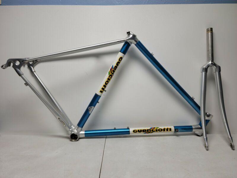 Vintage 1986 Paolo Guerciotti/Alan 53cm Aluminum Lugged Road Bike Frameset