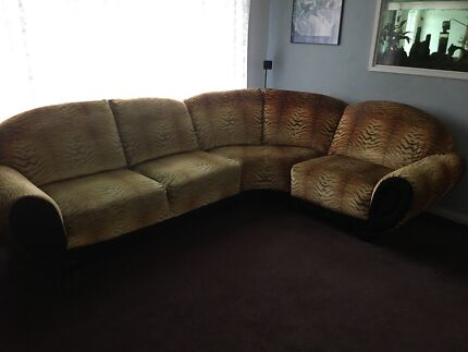 Lounge suite , modular couch with recliner