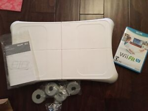 Wii u fit board and game