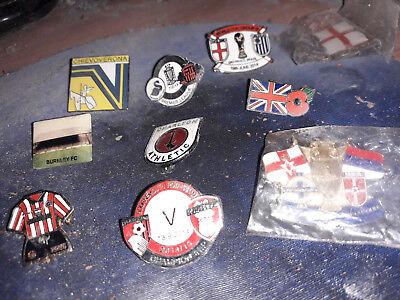 bournemouth v rotherham champ 2014/15 enamel pin badge