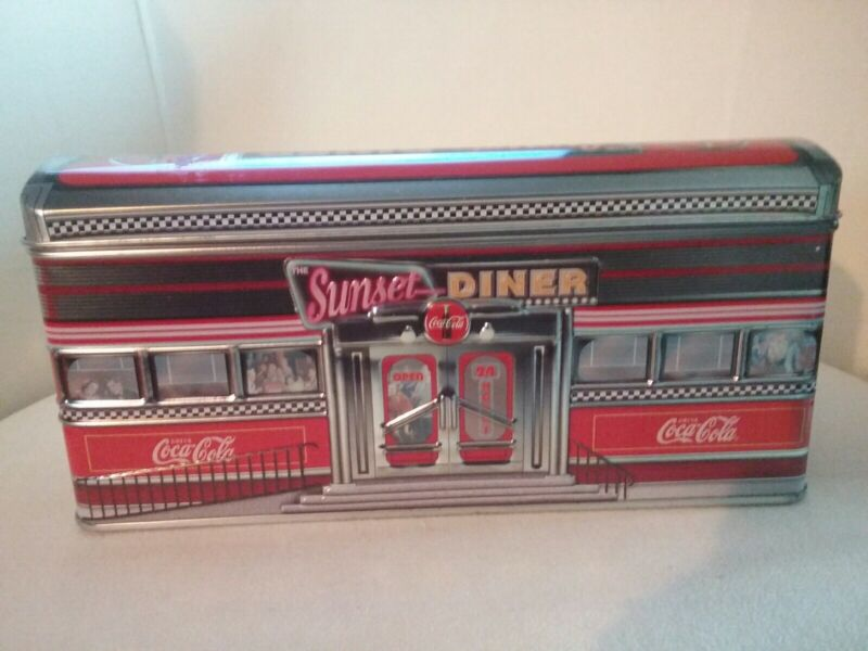 Coca-Cola Sunset Diner Collector Tin