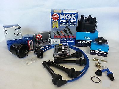 1992-1994 Honda Civic 1.5 Tune Up Kit (NGK V-Power Plugs)