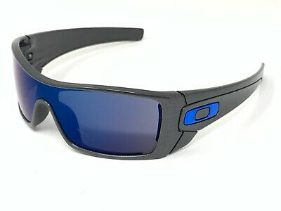 Oakley Batwolf Granite Sunglasses Blue Icons