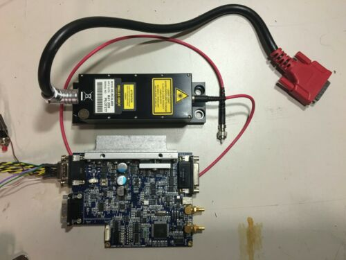MELLES GRIOT 85-RCS-400 DPSS RED LASER & Controller Tested Working with Service