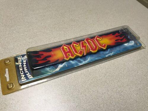 AC/DC Rock Band Flame Logo Incense Burner Officially Licensed NIP