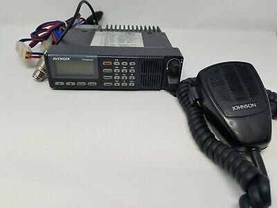 Ef Johnson Avenger Radio Model 242-7401-121 Vhf Conventional Mobile Gx-mc11