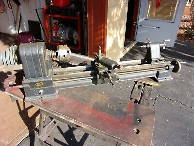 Craftsman Dunlap 109.0702 0702 Modelmakers Jewelers Lathe Local Pick Up Only