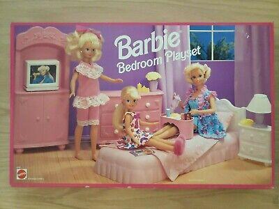 Barbie Bedroom Playset 1993 Mattel #67021 Furniture New in Box