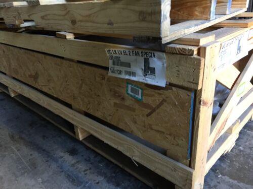 Overstock Heatcraft evaporator LWE155SC low flow ctr mnt 230v EC mtrs air dfst