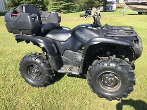 2015 Yamaha Grizzly 700 Special Edition