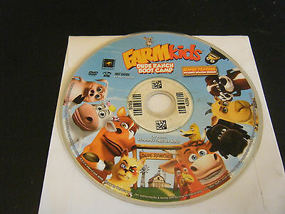Farmkids   Dude Ranch Boot Camp  Dvd  2008    Disc Only