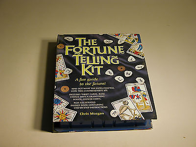 Fortune Telling Kit Chris Morgan  Barrons 1996 New China