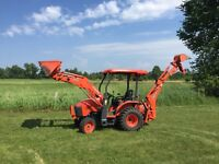 Kubota for hire