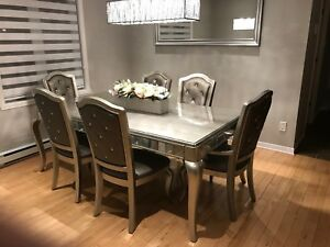 Luxury Dining Room Set 7 Piece