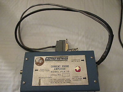 Electro-metrics Pca-10 Current Probe Amplifier