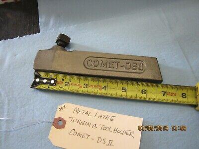 Metal Lathe Turning Tool Holder Comet-ds Ii