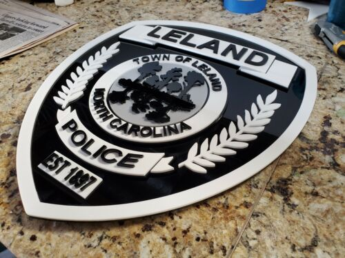 LELAND 3D SIGN ART Badge emblem car patch display NEW custom order