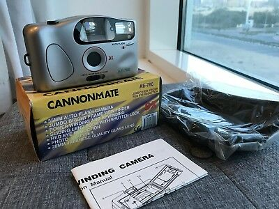 Cannonmate 35mm Point and Shoot Film Camera
