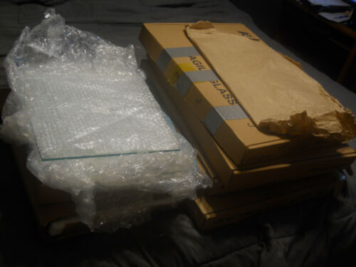 Lot of Glass Plates for Applied Biosystems 377 DNA Sequencer