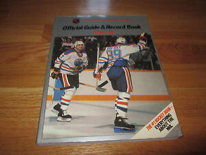 Official-GUIDE-RECORD-Book-1985-86-WAYNE-GRETZKY-PAUL-COFFEY-OILERS-Champs