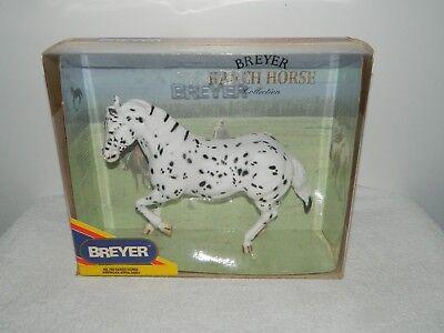 Breyer Traditional Ranch Horse American Appaloosa Horse Figurine #750 American Ranch Horse
