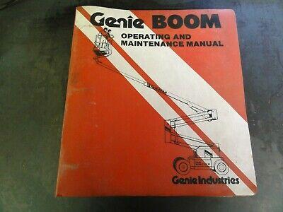 Genie Boom Z-4522gp Lift Operating And Maintenance Manual