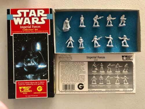 Star Wars Imperial Forces Collectors Box Set Grenadier Miniatures 40302 West End