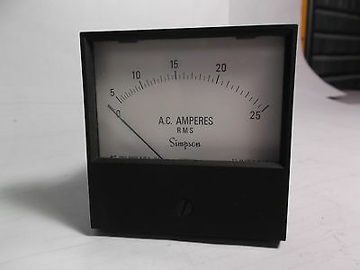 2153 Ac Ampere Meter
