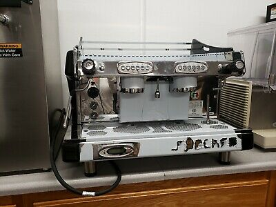 New Royal Synchro 2 Group Commercial Espresso Coffee Machine