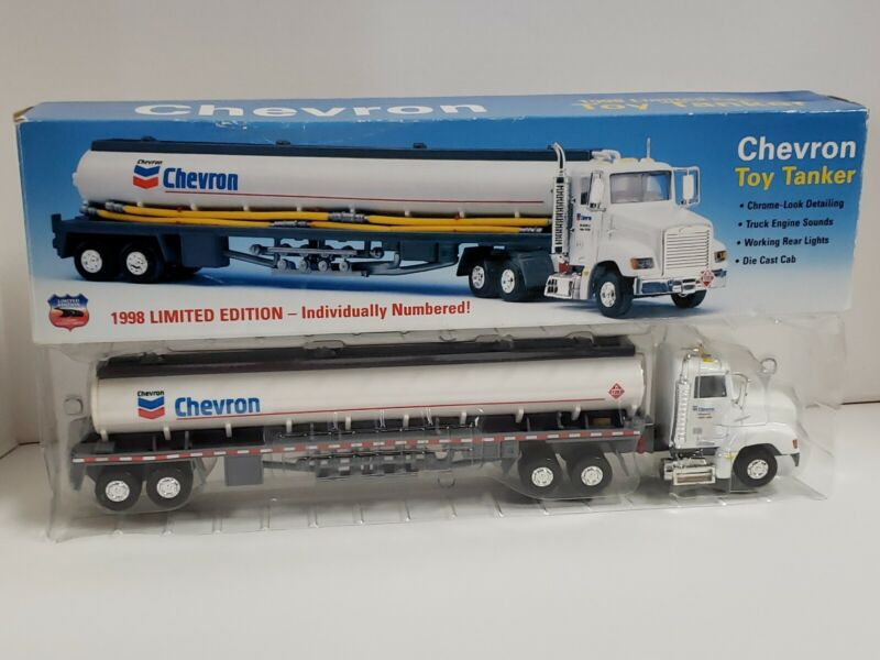 Chevron Toy Tanker 1998 Limited Edition Individually Numbered Collectible